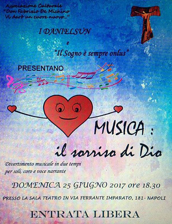Spettacolo Teatrale Musica: il sorriso di Dio
